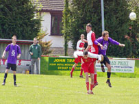 CP Llanandras' best result of the season came on the last day at Knighton Town