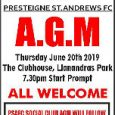 Presteigne St Andrews FC will hold its Annual General Meeting on Thursday, 20 June. The meeting will take place at the clubhouse at Llanandras Park and is due to get […]