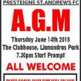 Presteigne St Andrews FC have confirmed the club's Annual General Meeting will be held on Thursday, 14 June at the clubhouse at Llanandras Park. The meeting is due to get […]