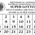 My thanks to vice-chairman Tom Ammonds who has let me have the latest results in the Presteigne St Andrews FC Super Lotto. The four numbers drawn from the bag in […]